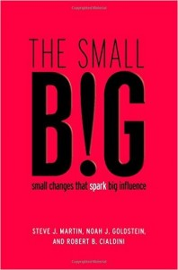 Steve J. Martin, Noah Goldstein, Robert Cialdini - The Small Big: Small Changes That Spark Big Influence